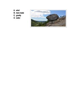 Weathering and Erosion Vocabulary Quiz