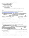 Weathering and Erosion Webquest