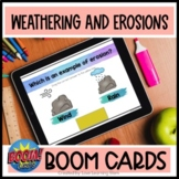 Weathering and Erosions BOOM Cards  |  Earth Science  |  4