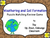 Weathering and Soil Formation Puzzle Matching Vocabulary R