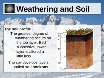 Weathering and Soil Power Point