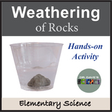 Weathering of Rocks Activity Experiment