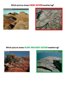 Weathering and Erosion of Rocks (DI and Professionally Submitted!)