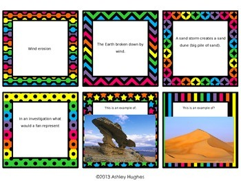 Weathering/Erosion/Natural Resources Review Task Cards
