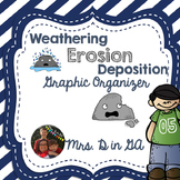 Weathing-Erosion-Deposition Graphic Organizer