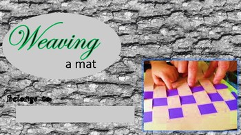 Weave a Mat Activity