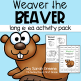 Long e Vowel Team: ea Printables, Center, Game & Craft