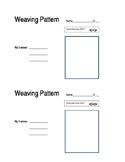 Weaving Pattern Worksheet