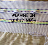 Weaving on Utility Mesh