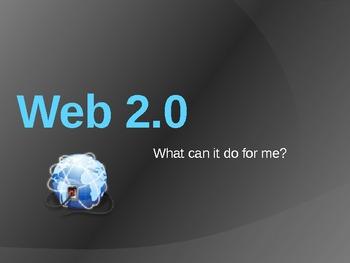 Web 2.0 Powerpoint Presentation for Staff (20 slides)