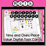 Web-Based Distance Learning Tens and Ones Digital Task Cards