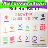 Web Browser Icons Bulletin Board