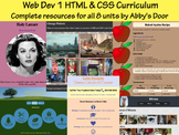 Web Design & Dev 1 in HTML & CSS - Curriculum Bundle