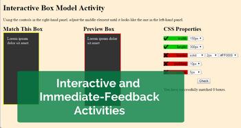 Web Design & Development -- Unit 5 The Box Model