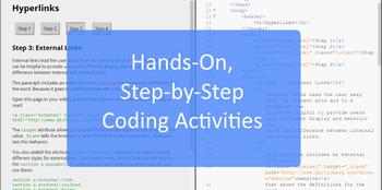 Web Design & Development -- Unit 6 Hyperlinks and Data Structures