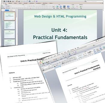 Web Design & HTML Programming  Unit 4: Theoretical Part