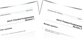 Web Design & HTML Programming   Unit 5: Revision