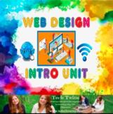 Web Design Intro Unit