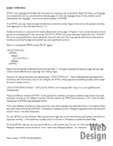 Web Design: Intro to HTML