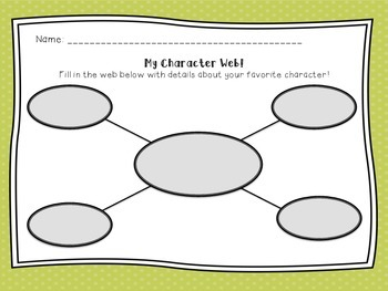 Web Graphic Organizers