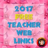Web Links for Teachers - 2017