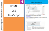 Web Page Creation with CSS HTML and JavaScript