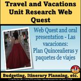Web Quest- El viaje de vacaciones