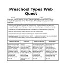 Web Quest Preschool Types & Child Development Options