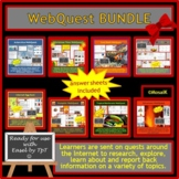 WebQuests BUNDLE