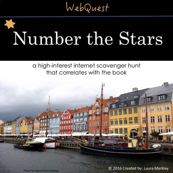 Web Scavenger Hunt: Number the Stars by Lois Lowry