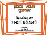 Web Themed Place Value Games