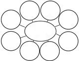 Web diagram graphic organizer