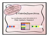 WebAblls B13 Matching Sequence Pattern, Sequence Maps, Sequencing