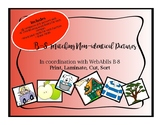 WebAblls B8 Matching Non-identical Picture Cards, B8 Worksheet