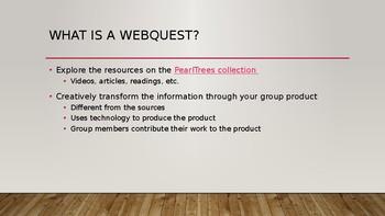 WebQuest: Africa MiniTopics