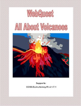 WebQuest-All About Volcanoes