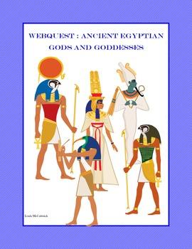 WebQuest: Ancient Egyptian Gods and Goddesses