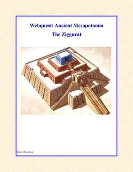ancient mesopotamia the ziggurat webquest by linda mccormick tpt