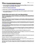 WebQuest: Genetically Modified Organisms