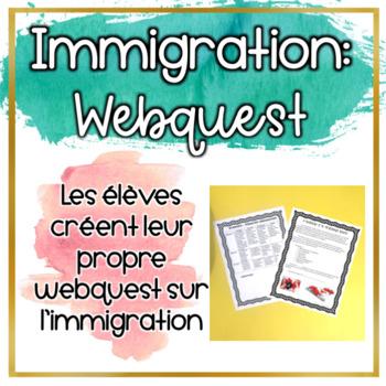 WebQuest: L'immigration au Canada