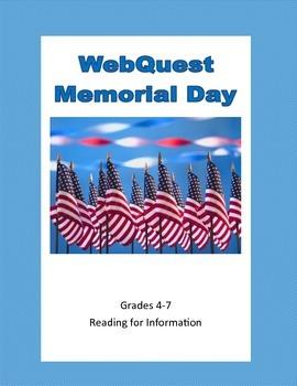 Memorial Day - Webquest