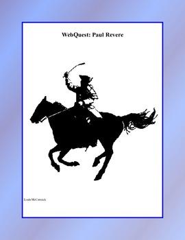WebQuest: The Ride of Paul Revere Grades 4-7