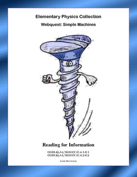 Simple Machines Webquest Teaching Resources Teachers Pay Teachers