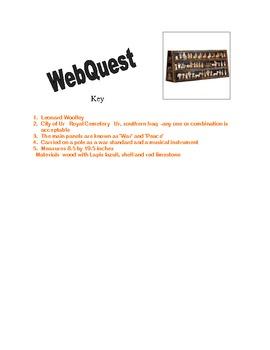 Standard of Ur in Mesopotamia- WebQuest