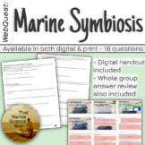 WebQuest Symbiotic Relationships (Ocean Odd Couples) Marin