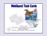 Greek Mythology -Webquest Task Cards
