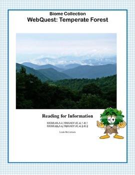 Temperate Forest - WebQuest
