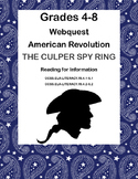 American Revolution-The Culper Spy Ring -WebQuest