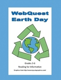 Earth Day-Webquest