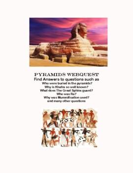 The Pyramids of Egypt-WebQuest